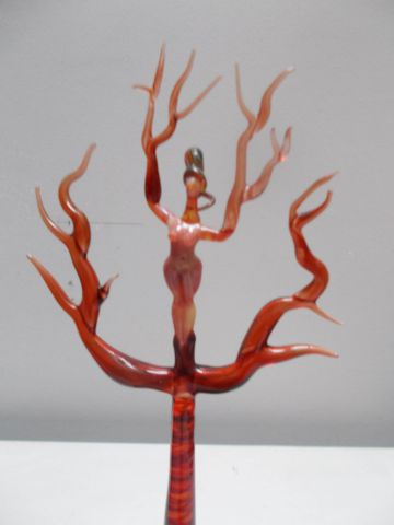 """Spirit Tree"" Red small for sell"